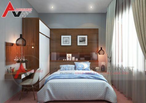 Thiết kế phòng ngủ hiện đại Anh Hùng-Hà Nội