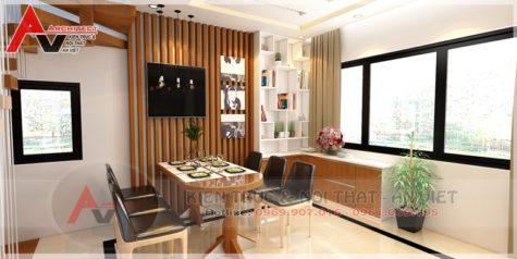 Thiết kế nội thất phòng bếp Chị Thái-Hải Dương