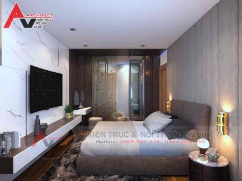 Thiết kế phòng ngủ 20m2 Anh Cường- Hà Nội
