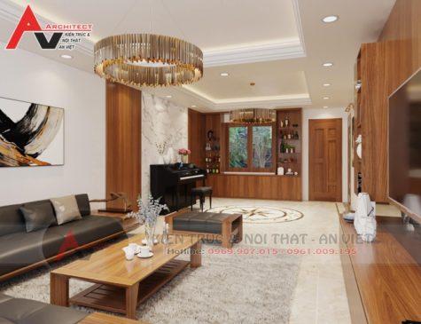 Thiết kế nội thất biệt thự sang trọng Anh Minh-Bắc Giang