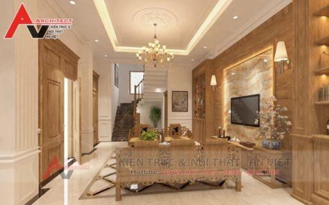 Thiết kế nội thất nhà phố Anh Hải-Hà Nội