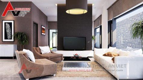 Thiết kế nội thất biệt thự hiện đại 250m2 Anh Đạt-Hải Phòng
