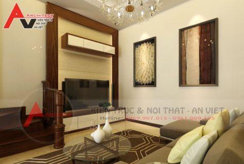 Thiết kế nội thất phòng khách Anh Duẩn-Hà Nội