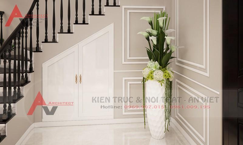 Thiết kế nội thất biệt thự Villa Vinhomes The Harmony Anh Hải Long Biên