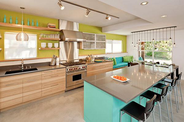 Ý tưởng trang trí màu sắc bếp của bạn