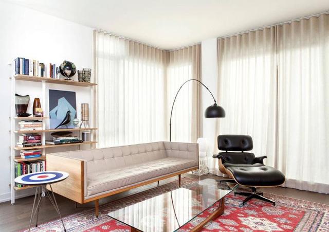 10 Ý tưởng biến hóa không gian phòng khách rộng