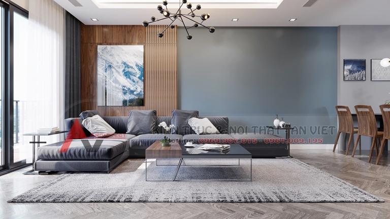 Mẫu thiết kế căn hộ chung cư Greenpearl 3 phòng ngủ 110m2 2