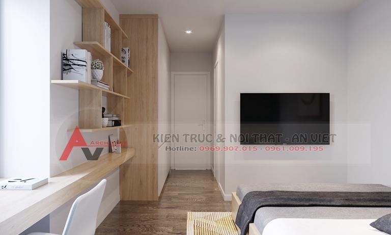 Mẫu thiết kế căn hộ chung cư Greenpearl 3 phòng ngủ 110m2 5