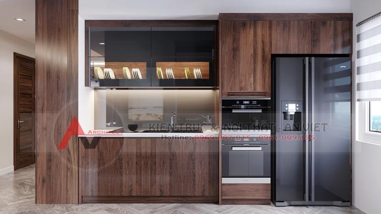 Mẫu thiết kế căn hộ chung cư Greenpearl 3 phòng ngủ 110m2 6
