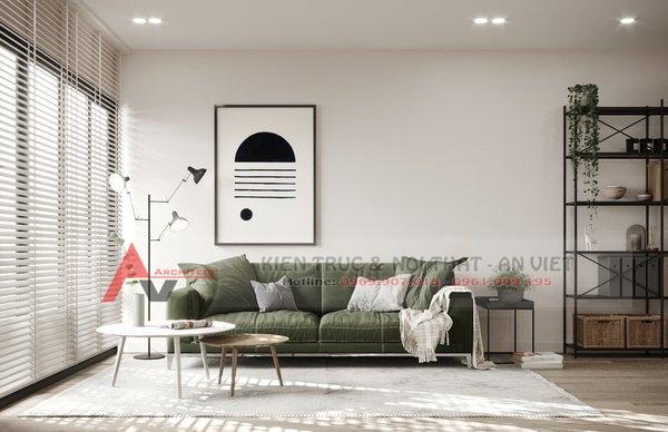 Thiết kế nội thất căn hộ chung cư 87m2 Gold Season 47 Nguyễn Tuân 1