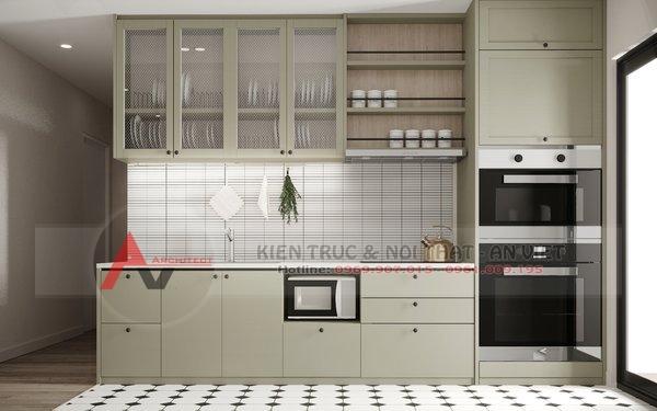 Thiết kế nội thất căn hộ chung cư 87m2 Gold Season 47 Nguyễn Tuân 4