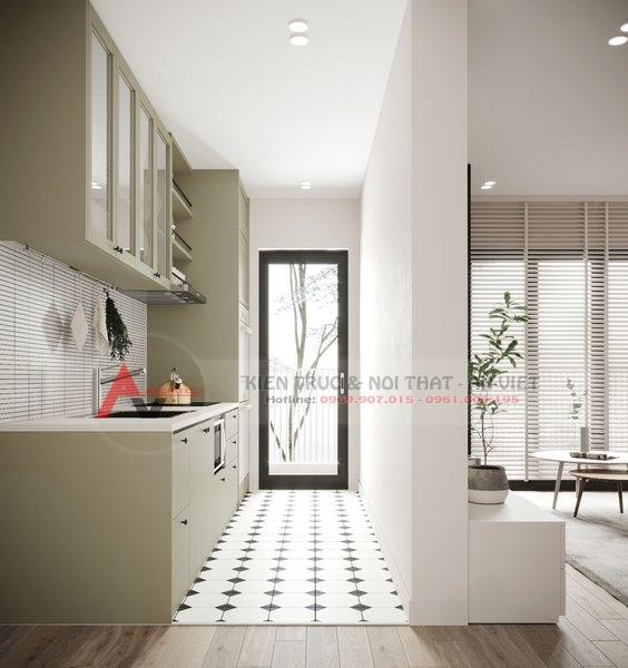 Thiết kế nội thất căn hộ chung cư 87m2 Gold Season 47 Nguyễn Tuân 6