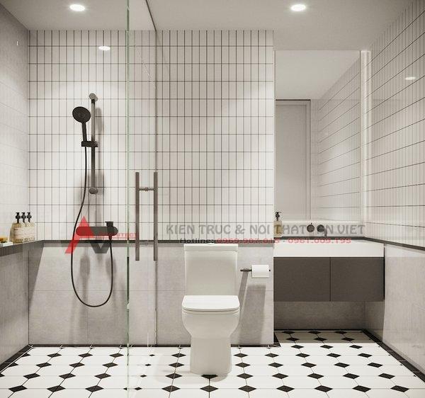 Thiết kế nội thất căn hộ chung cư 87m2 Gold Season 47 Nguyễn Tuân 9